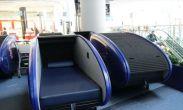 სტამბულის აეროპორტში საძილე კაფსულები უკვე დაიდგა