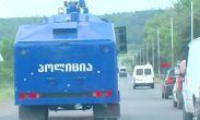 პოლიციას დმანისში დამატებითი ძალები შეჰყავს
