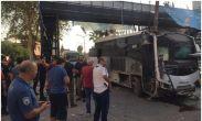 თურქეთში პოლიციის ავტობუსში ბომბი აფეთქდა