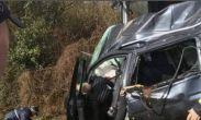 უმძიმესი კადრები სამტრედიიდან, სადაც ავარიას ხუთი ადამიანის სიცოცხლე ემსხვერპლა (ვიდეო)