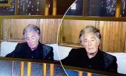 """ფოტო: 80 წლის ალ პაჩინოს """"ოქროს გლობუსის"""" დაჯილდოებაზე ჩაეძინა"""