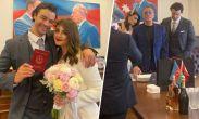 ჟან-კლოდ ვანდამის ვაჟი აზერბაიჯანელ პიანისტზე დაქორწინდა - ხელის მოწერა ალიევის პორტრეტის ფონზე შედგა
