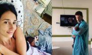 რუსკა მაყაშვილი ახალშობილის ფოტოებს აქვეყნებს და ექიმებს და გამომწერებს მადლობას უხდის