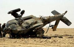 აშშ-ში სამხედრო ვერტმფრენის კატასტროფას ორი ადამიანის სიცოცხლე ემსხვერპლა