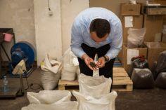 ყავის გადამამუშავებელ საამქროს საწარმოო პროცესი შეუჩერდა