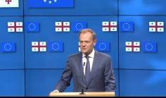 დონალდ ტუსკი: ადამიანებისთვის, ვინც ბრიტანეთს სამოქმედო გეგმის გარეშე ევროკავშირიდან გასვლისკენ მოუწოდებდა, ჯოჯოხეთში ცალკე ადგილია გამოყოფილი