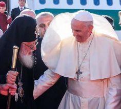 რომის პაპი: შემძრა პატრიარქის გაცნობამ, მე ვიპოვე ნამდვილი ღვთისკაცი