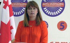 სანდრა რულოვსი: დაგვყვებიან გადაცმული პოლიციელები, პროვოკაციაზე მოდიან და გვიშლიან ხელს