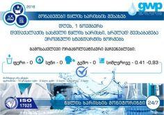 1 ნოემბერს თბილისს ხარისხიანი სასმელი წყალი მიეწოდება