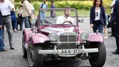 """კლასიკური მანქანების პირველი რბოლის მონაწილენი """"ვისოლთან"""" ერთად მოგზაურობენ"""