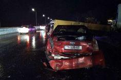 ავტობანზე მომხდარი ავარიის გამო საავადმყოფოში 6 ადამიანი მოხვდა