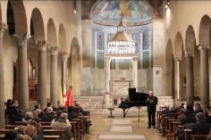 რომში გია ყანჩელის მუსიკისადმი მიძღვნილი ღონისძიება გაიმართა