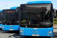 ტექნიკური ინსპექტირების გაუვლელობის გამო, თბილისში 200-მდე მიკროავტობუსი და 100-მდე ავტობუსი გაჩერებულია