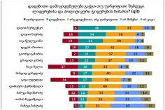NDI - სერგეენკოს დადებითად აფასებს გამოკითხულთა 46%