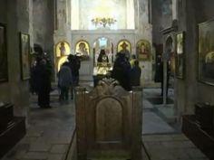 ცარიელი ტაძარი და საღამოს ლოცვა მრევლის გარეშე - ჭყონდიდის ეპარქიაში მოქალაქეები არ მივიდნენ