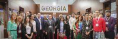 """ქართულმა კომპანიებმა დუბაიში, აგროგამოფენაზე- ,,გალფუდი 2017"""" საკუთარი პროდუქცია წარადგინეს"""