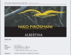 NIKO PIROSMANI – A Wanderer Between Worlds ალბერტინას მუზეუმი ნიკო ფიროსმანაშვილის გამოფენას უმასპინძლებს