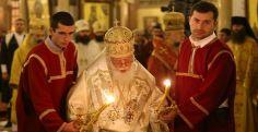 სამების ტაძარში პეტრე-პავლობის დღესასწაულთან დაკავშირებით საზეიმო წირვა მიმდინარეობს